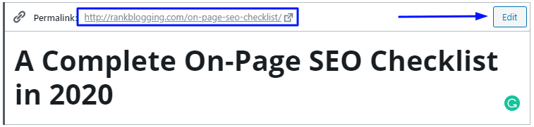 A complete on page seo checklist