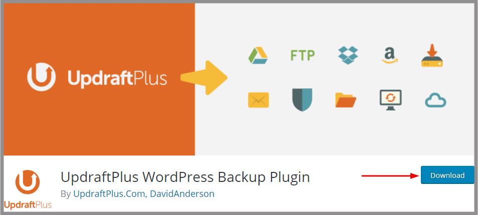 Best wordpress important plugins for business, Important plugins for every website owner, Updraftplus wordpress plugin
