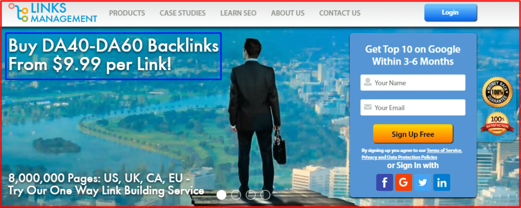Buy quality backlink cheap