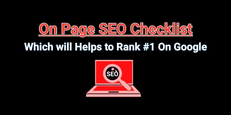 Complete On-Page SEO Checklist