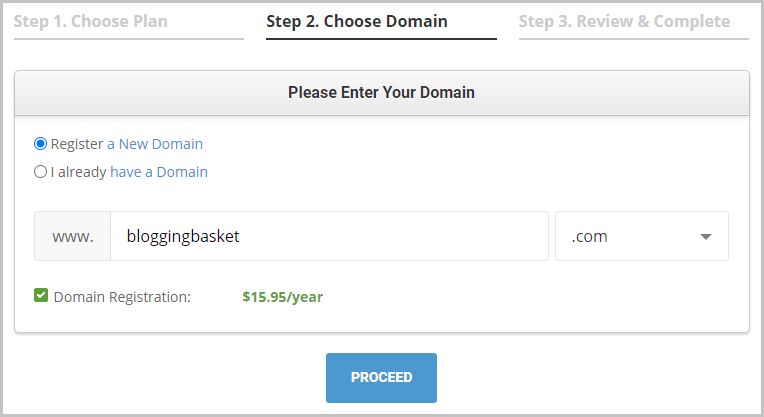 Siteground Hosting Domain Name Registration