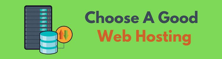 Choose-a-good-web-hosting