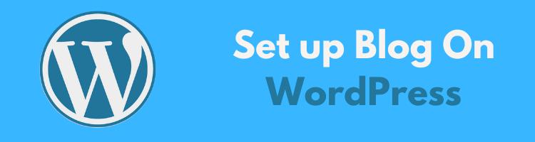Set-up-blog-on-wordpress