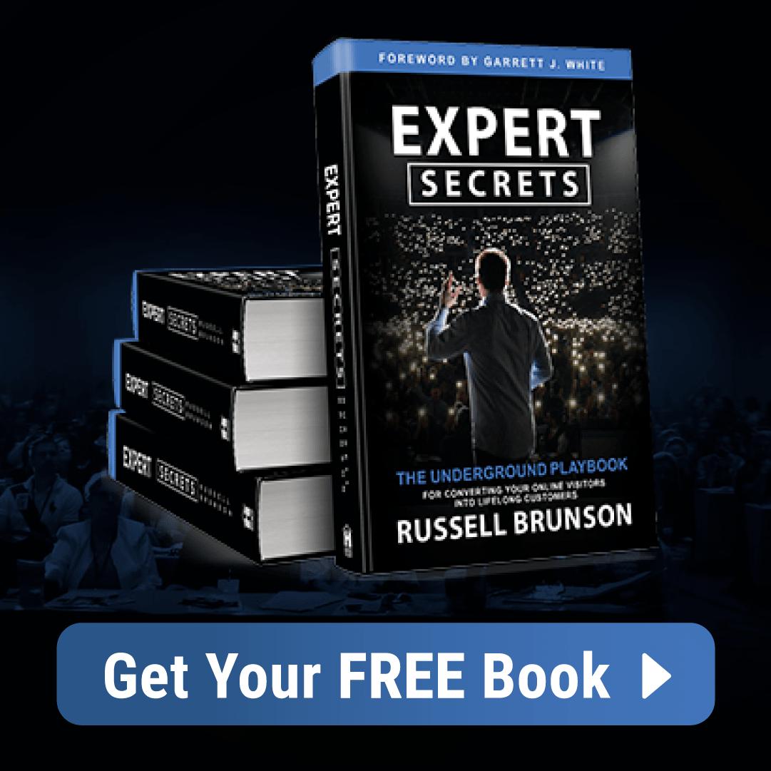 Expert secrets book of Clickfunnel