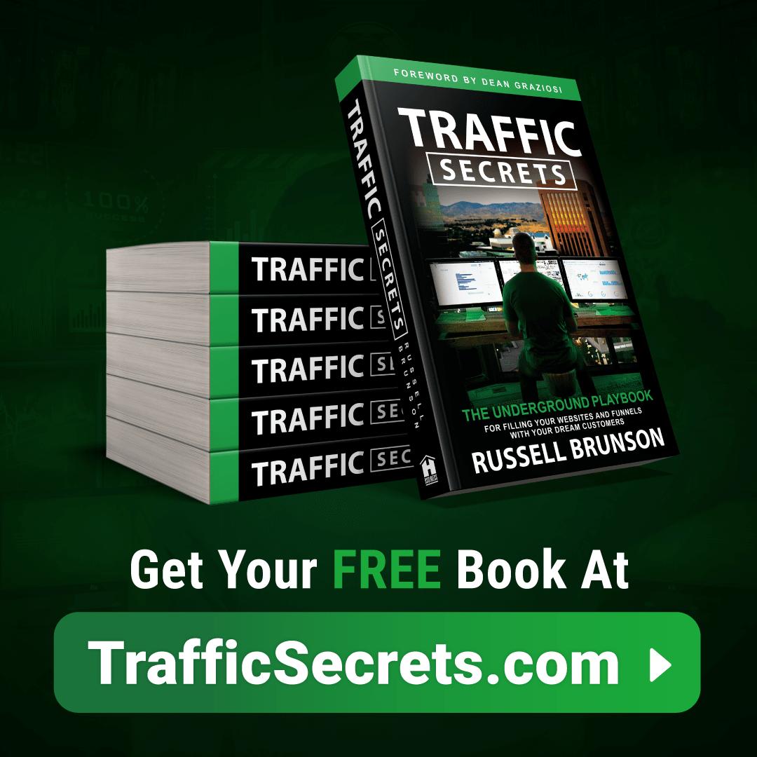 Traffic secrets book of Clickfunnel