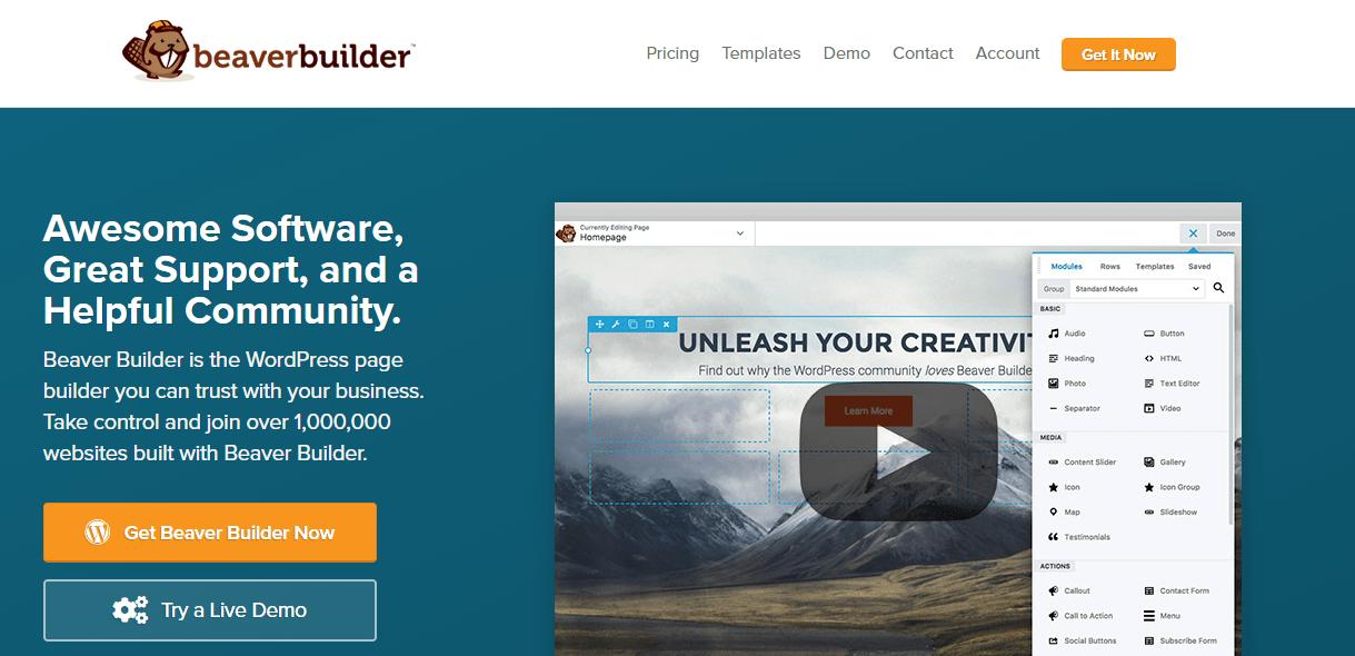 Beaver Builder for Generatepress