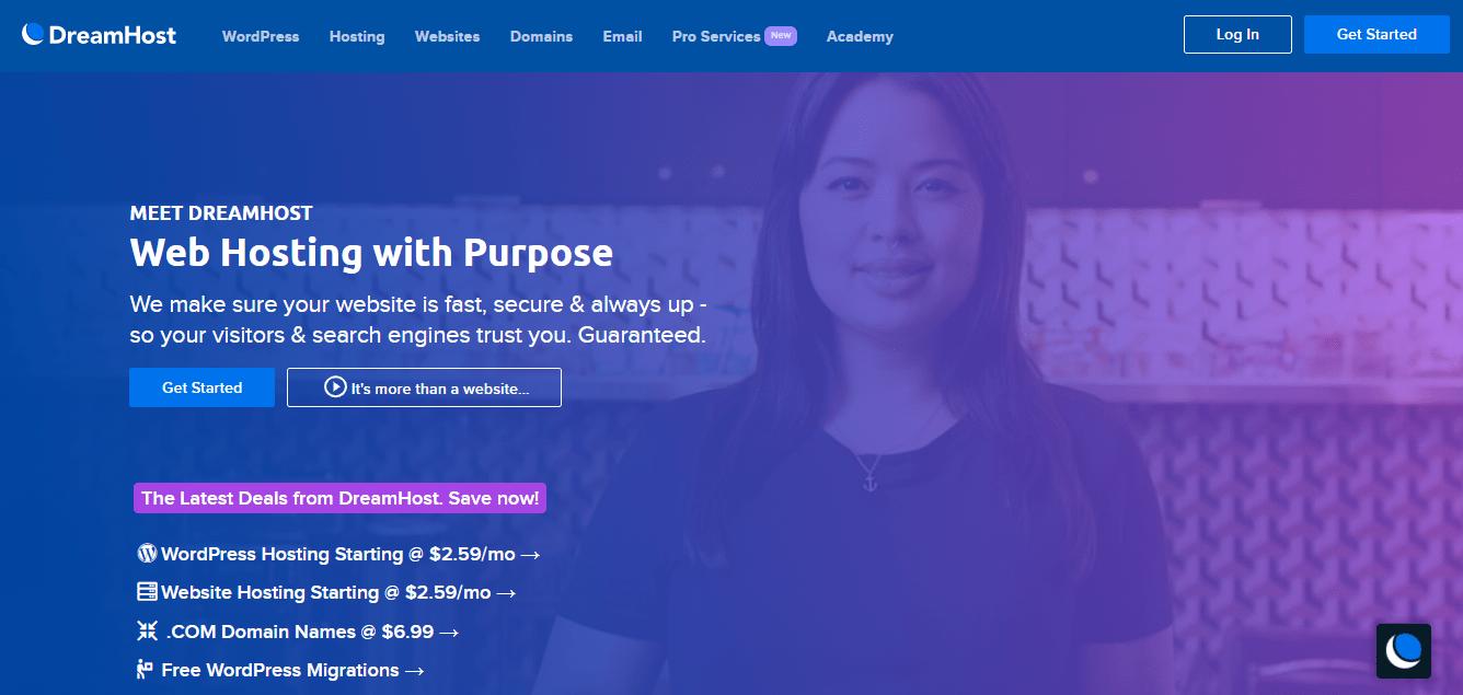 Dreamhost, Best Siteground Alternatives